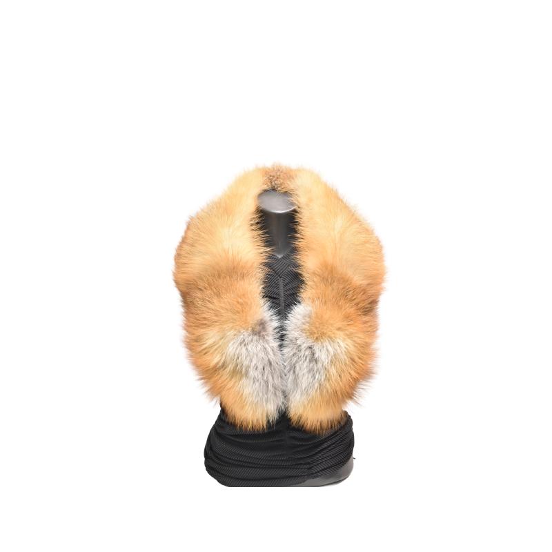 Kožušinový golier / šál / , pravá kožušina líška hrdzavá