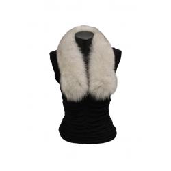 Kožušinový šál golierik , pravá kožušina polárna líška