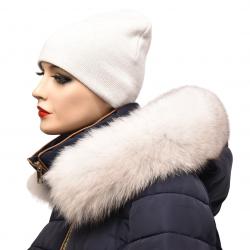 Kožušinový lem na kapucňu , pravá kožušina polárna líška